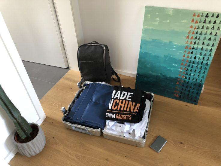 Koffer sind gepackt
