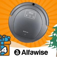 Alfawise Saugroboter Tag 14 Adventskalender