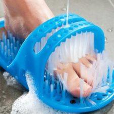 Bürstenschuhe für die Dusche