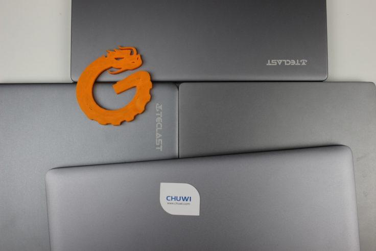 CHUWI LapBook Air Gehäusefarbe Vergleich