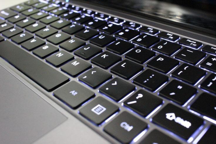CHUWI LapBook SE Tastenbeleuchtung
