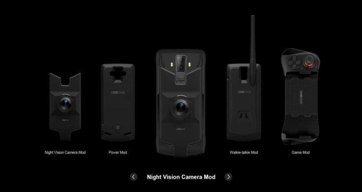 Doogee S90 Module Überblick
