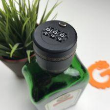Flaschenverschluss mit Zahlenschloss Flasche