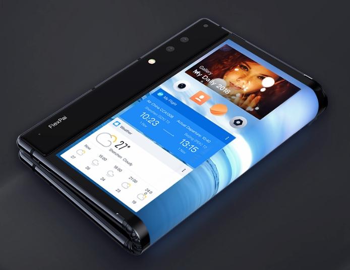 FlexPai Smartphone gefaltet