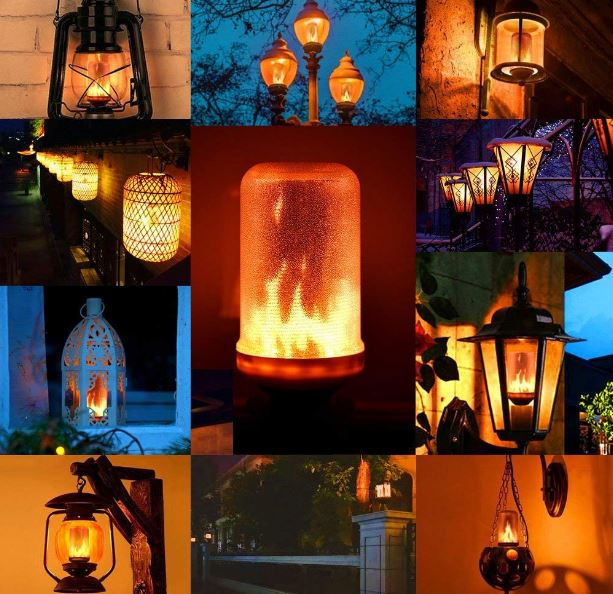 Glühbirne Einsatzbeispiele außen