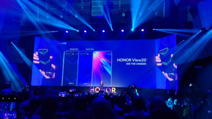 Honor View 20 Farben Rückseite