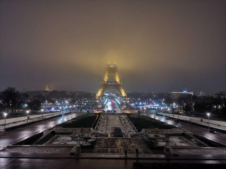 Honor View 20 Hauptkamera Testfoto Eiffelturm