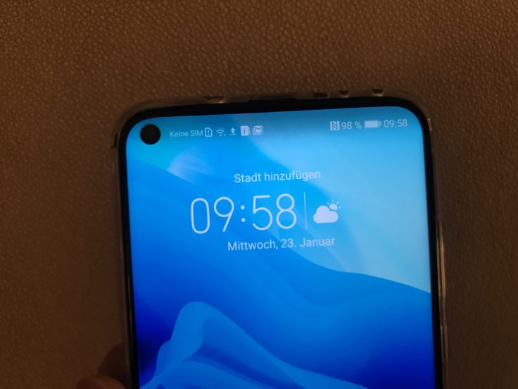 Honor View 20 In Display Kamera