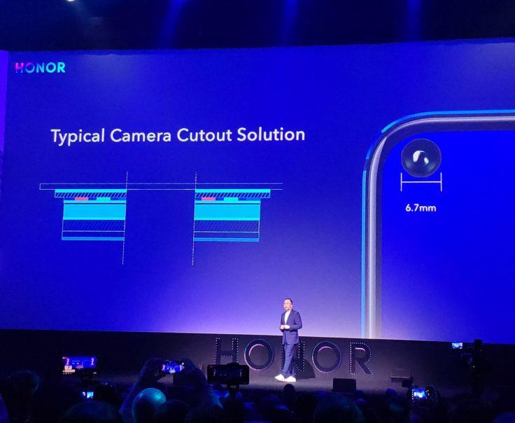 Honor View 20 In Display Kamera Präsentation