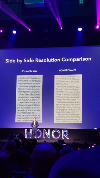 Honor View 20 Vergleich iPhone