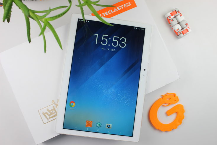 Teclast T20 Tablet Design