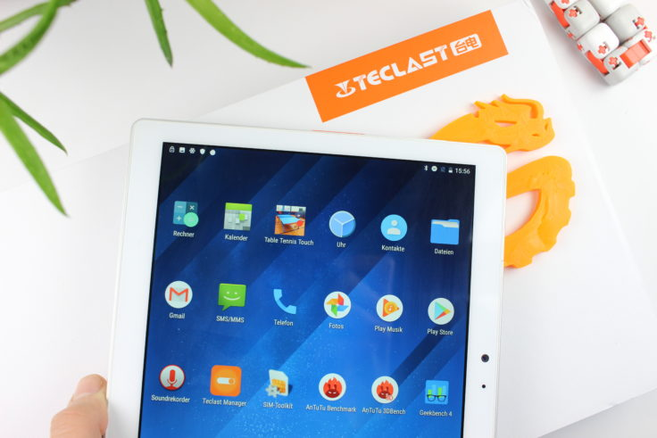 Teclast T20 Tablet Display