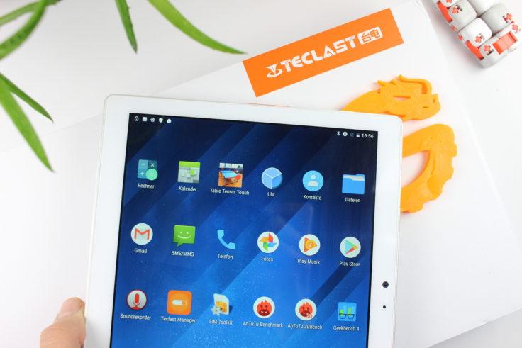 Teclast T20 Tablet Display
