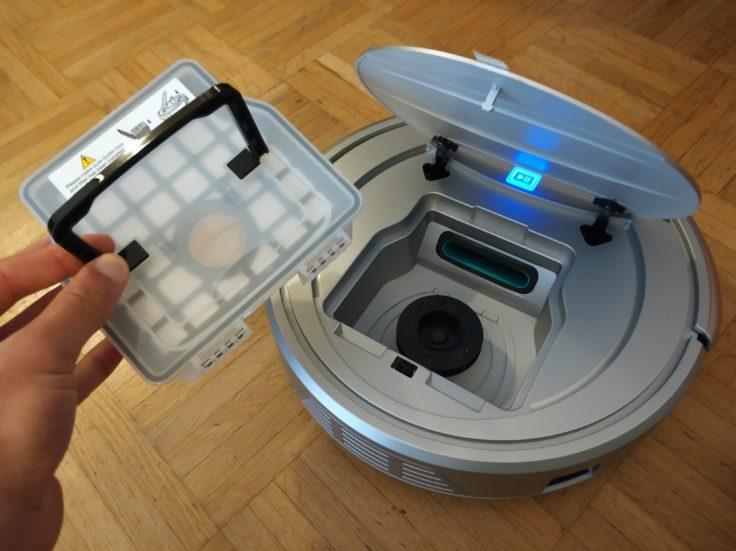 Viomi VXRS01 Saugroboter Staubkammer