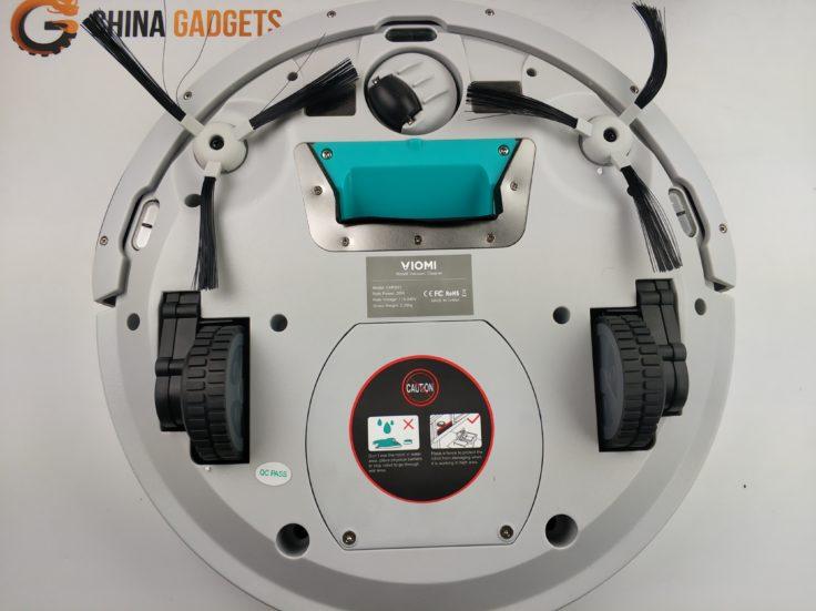 Viomi VXRS01 Saugroboter Unterseite