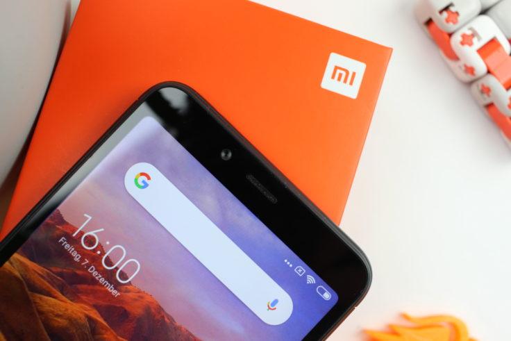 Xiaomi Redmi 6 Bildschirmrand