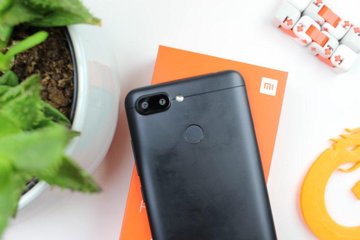 Xiaomi Redmi 6 Rückseite