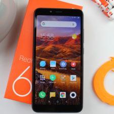 Xiaomi Redmi 6 Smartphone 1