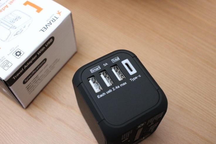 CHUNNO Reiseadapter USB Ports