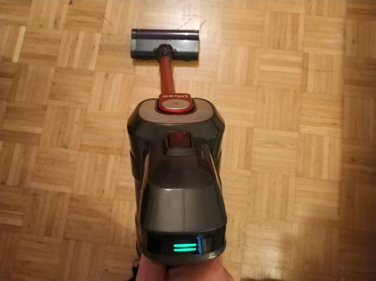 Dibea D008 Pro Akkustaubsauger Einsatz