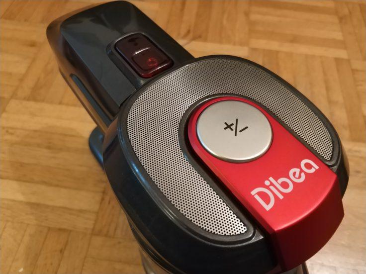 Dibea D008 Pro Akkustaubsauger Saugstufe einstellen