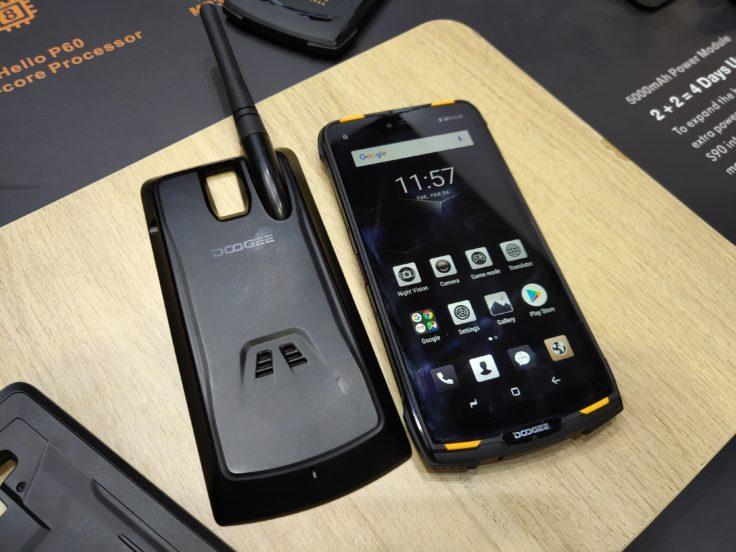 Doogee S90 Modul Walkie Talkie