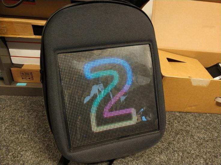 LED Rucksack bunte Zwei