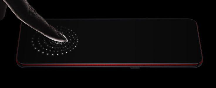 Lenovo Z5 Pro GT Fingerabdrucksensor im Display
