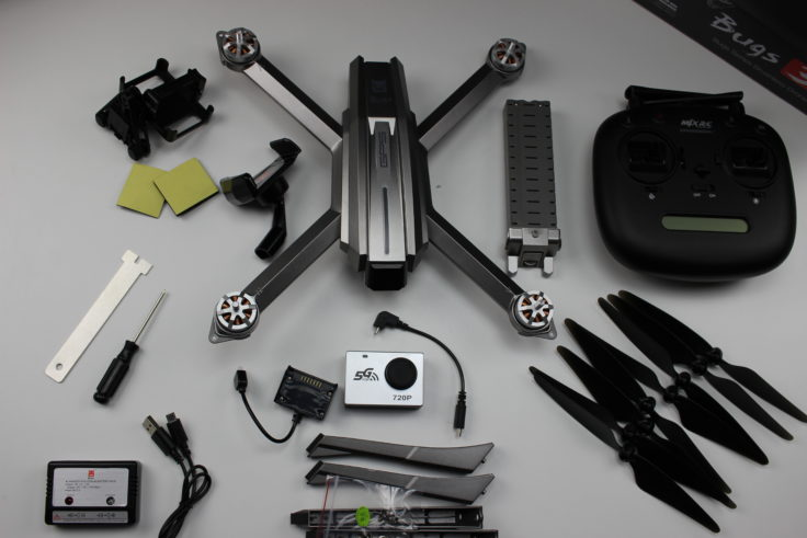 MJX Bugs 3 Quadrocopter Zubehör