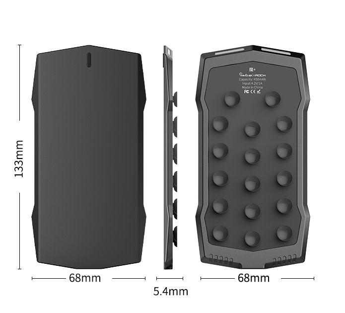 MUJA Gamepad Smartphone Abmessungen