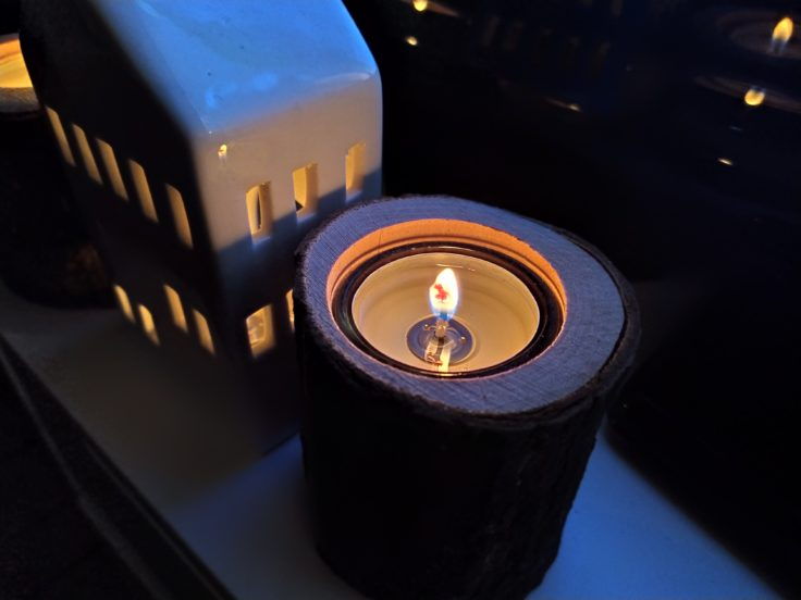 Redmi Note 7 Hauptkamera Testfoto Kerze
