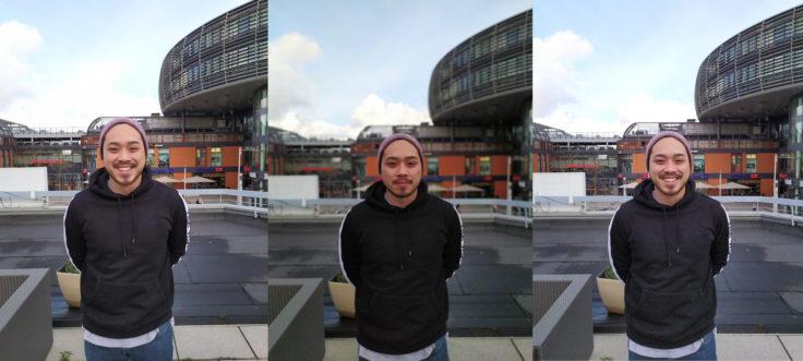 Redmi Note 7 Hauptkamera Testfoto Person Vergleich