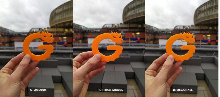 Redmi Note 7 Hauptkamera Testfoto Vergleich Modi