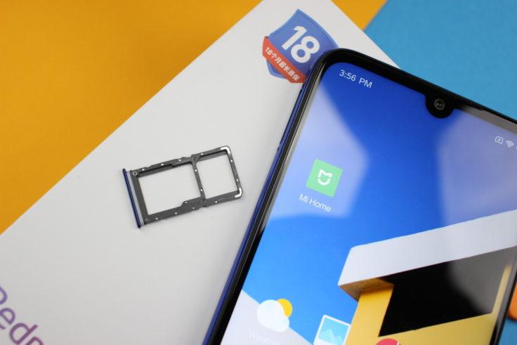 Redmi Note 7 SIM Karten