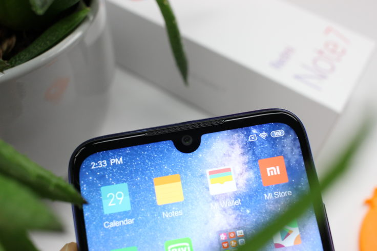 Redmi Note 7 Smartphone Notch