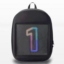 Rucksack mit LED Display 1
