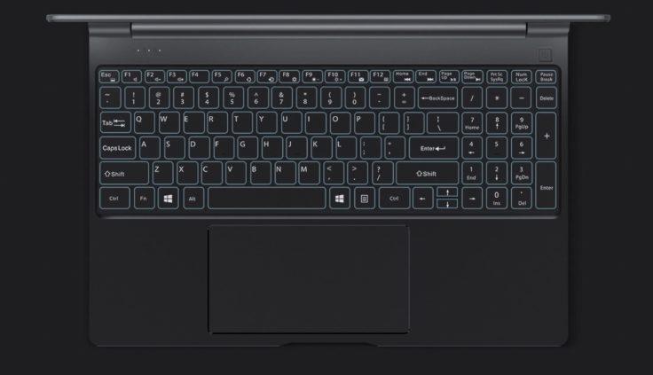 Teclast F15 Tastatur
