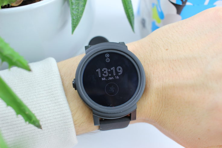 Ticwatch E Smartwatch Always On Modus