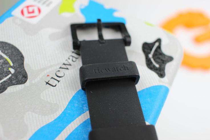 Ticwatch E Smartwatch Silikon Staub