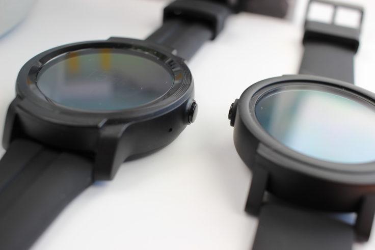Ticwatch E2 Vergleich Vorgänger