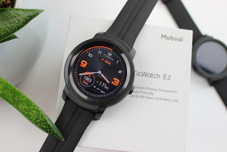 Ticwatch E2 Verpackung