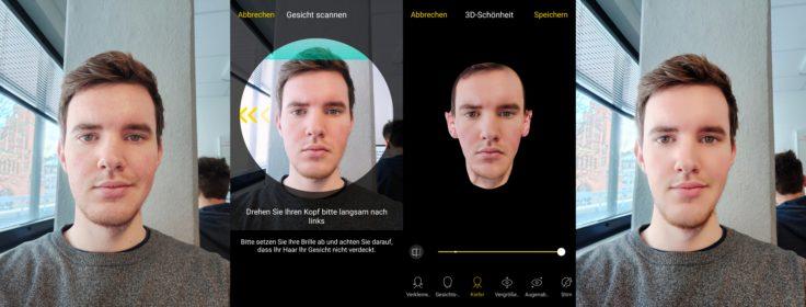 Vivo NEX Dual Display 3D Gesicht Scan AI Beauty