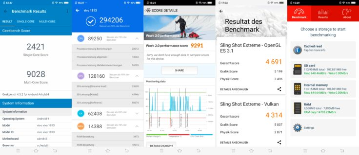 Vivo NEX Dual Display Benchmarks