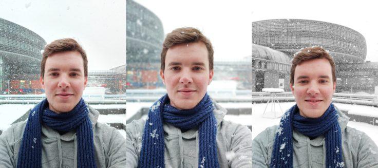 Vivo NEX Dual Display Selfie Portrait Monochrom