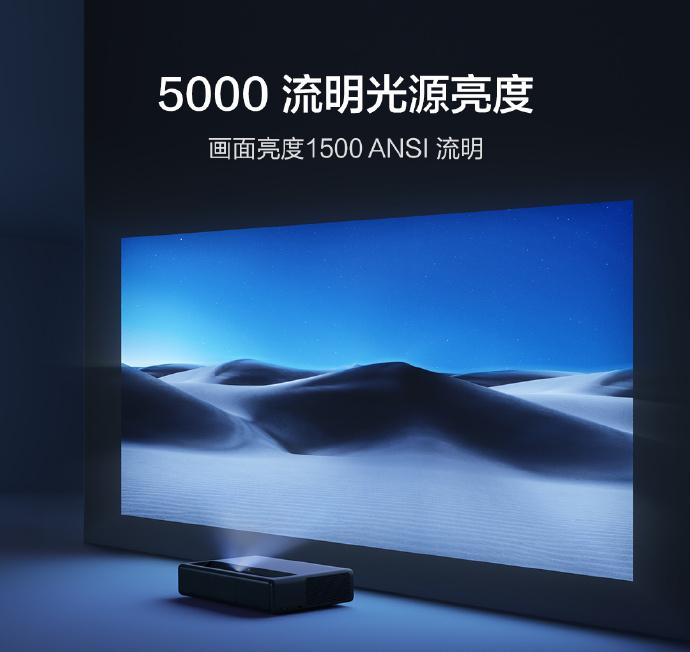 Xiaomi Mijia 4K Projector Lumen