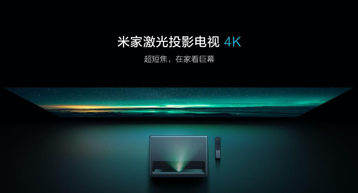 Xiaomi 4k Beamer