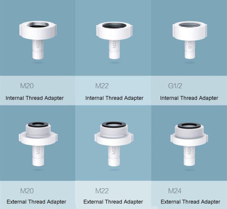 Xiaomi Zajia Wasserhahn Adapter