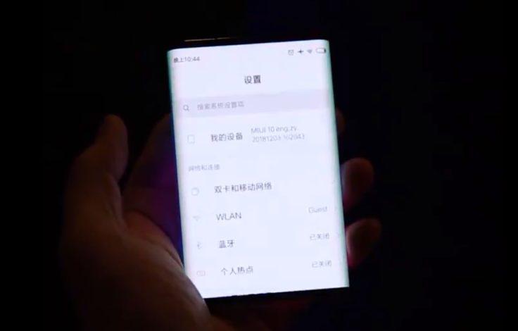 Xiaomi faltbares Smartphone MIUI