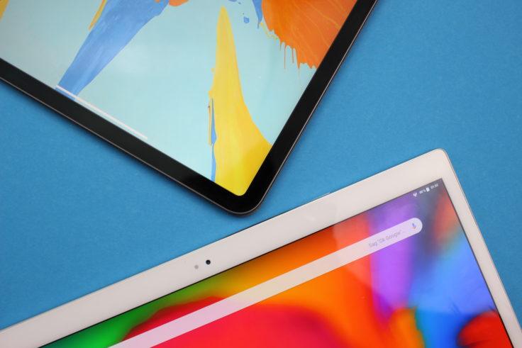 ALLDOCUBE X Gehäuserand iPad Vergleich