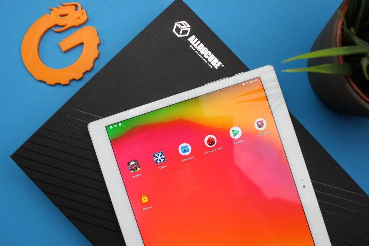 ALLDOCUBE X Tablet Display